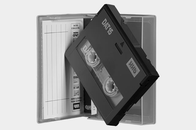 Digital Audio Tape or simply put, DAT, is a signal recording and playback standard medium. DAT was developed by Sony and introduced in 1987. Digital Audio Tape has become the standard recording and archiving technology in professional recording environments for master recordings. The technology is based on video recorders and the 4 mm tape and also the rotary head configuration is closely similar to 8 mm from Sony.