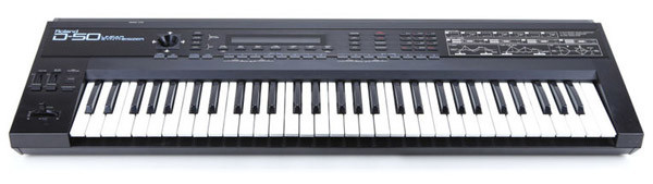 Roland D-50 synthesizer - Linear Arithmetic Synthesis